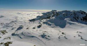 Foto mare di neve sorvolando il Passo dei Salati copia