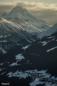 Valtellina al tramonto