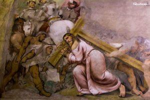 Cristo nella cappella del Romanino